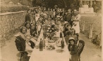 VE Day party, 8th May 1945, on The Green