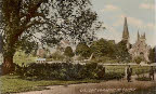 The Cathedral from Llandaff Fields