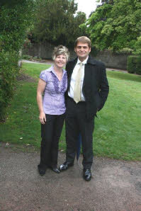Joanne Jones, Centre Assistant, and Andrew Phillips, Manager.