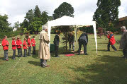 Insole Tree Dedication ceremony