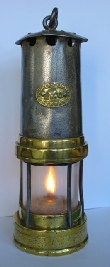 Insole Miner's Lamp from Cymmer Colliery